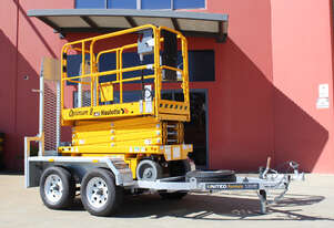 Electric Scissor Lift & Trailer Package | The Perfect Tradie Combo