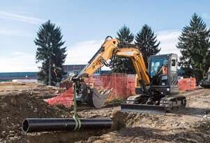 CASE C-SERIES MINI-EXCAVATORS CX60C
