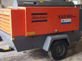 375CFM Aftercooled Diesel Compressor Hire - picture0' - Click to enlarge