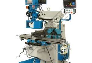 BM-30A Turret Milling Machine (X) 760mm (Y) 360mm (Z) 430mm Includes Digital Readout System, Vice &