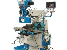 BM-30A Turret Milling Machine (X) 760mm (Y) 360mm (Z) 430mm Includes Digital Readout, Vice & Clamp K - picture0' - Click to enlarge