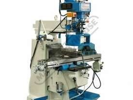 BM-30A Turret Milling Machine (X) 760mm (Y) 360mm (Z) 430mm Includes Digital Readout, Vice & Clamp K - picture2' - Click to enlarge