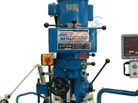 BM-30A Turret Milling Machine (X) 760mm (Y) 360mm (Z) 430mm Includes Digital Readout, Vice & Clamp K - picture5' - Click to enlarge