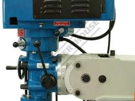 BM-30A Turret Milling Machine (X) 760mm (Y) 360mm (Z) 430mm Includes Digital Readout, Vice & Clamp K - picture14' - Click to enlarge