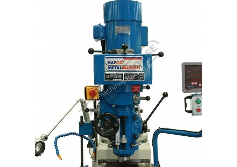BM-30A Turret Milling Machine (X) 760mm (Y) 360mm (Z) 430mm Includes Digital Readout, Vice & Clamp K