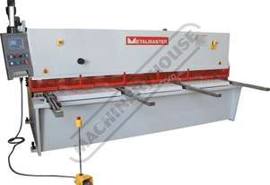HG-3206 Hydraulic NC Guillotine 3200 x 6mm Mild Steel Shearing Capacity 1-Axis Ezy-Set NC-89 Go-To C