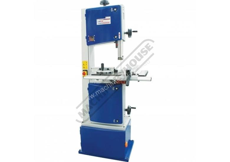 BP-355 Wood Band Saw 345mm throat x 245mm Height Capacity