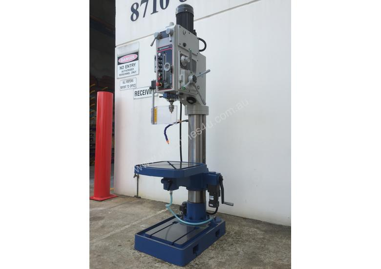 Heavy Duty 50mm Capacity Industrial Drill With Power Table Up & Down