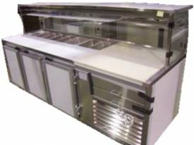 IFM Custom Built  Pizza Bar 1800mm long & 2 door c - picture0' - Click to enlarge