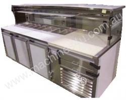 IFM Custom Built  Pizza Bar 1800mm long & 2 door c