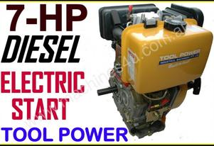 Engine Diesel TOOL POWER 7-hp = Without battery***