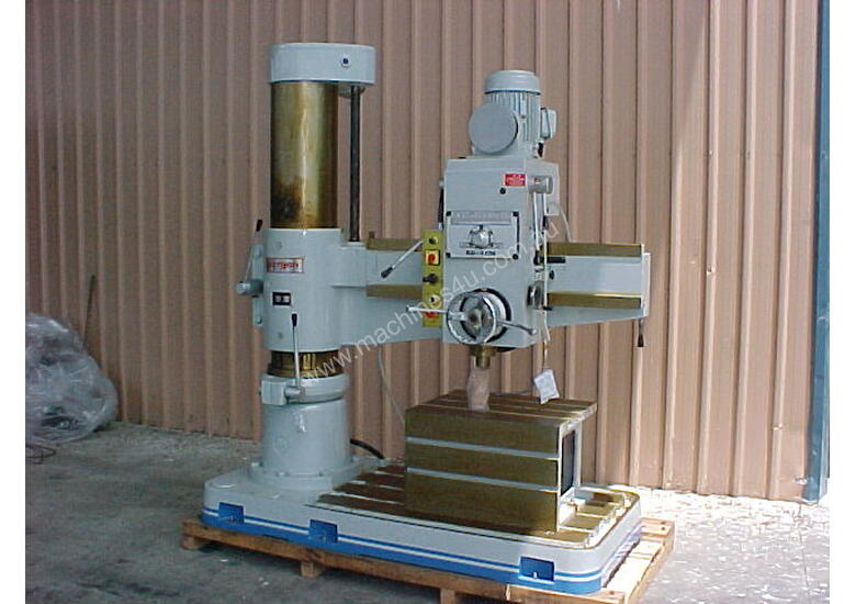 Ajax Taiwanese Radial Drills up to 1700mm Arm