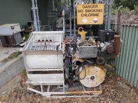 condor grout and mortar pump , petrol / electric - picture10' - Click to enlarge