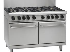 Waldorf Eight Burner Gas Double Oven Range