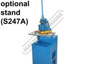 N-16 Manual Sheet Metal Notcher 150 x 150 x 1.6mm Mild Steel Capacity - picture2' - Click to enlarge