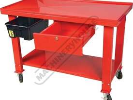 ETT-1D Steel Gearbox & Engine Tear Down Table Lockable Drawer & Removable Drain - picture0' - Click to enlarge