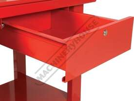 ETT-1D Steel Gearbox & Engine Tear Down Table Lockable Drawer & Removable Drain - picture4' - Click to enlarge