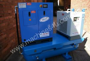 SALE 7.5hp 5.5kW Screw Air Compressor Package
