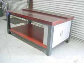 CARPENTER SHOP WORK BENCH 2100 X 1200 X 900MM  - picture0' - Click to enlarge