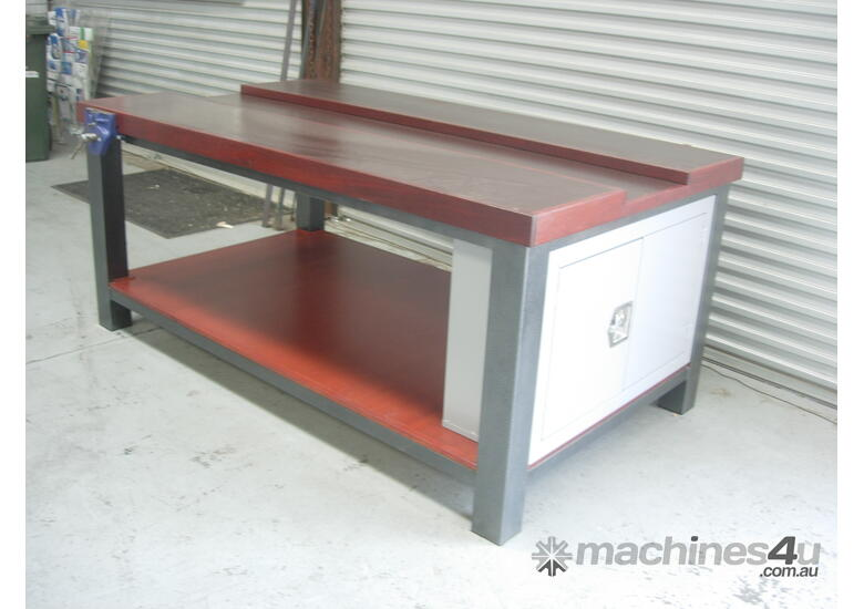 CARPENTER SHOP WORK BENCH 2100 X 1200 X 900MM