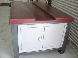 CARPENTER SHOP WORK BENCH 2100 X 1200 X 900MM  - picture2' - Click to enlarge