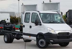 2014 Iveco DAILY 70C21 DUAL CAB/CHASSIS
