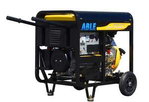 6KVA Portable Genset Open Frame Single Phase 240V