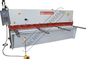 HG-4006 Hydraulic NC Guillotine 4000 x 6mm Mild Steel Shearing Capacity 1-Axis Ezy-Set NC-89 Go-To C