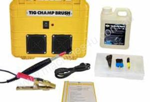 TIG CHAMP BRUSH DC PLUS Stainless Steel Cleaner