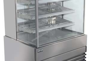 Heated Display Cabinets - Square Glass