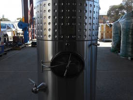 1000 Ltr WINE STORAGE TANK S/S