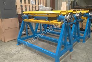 New Madison 1250 mm x 3 Ton Manual Decoiler