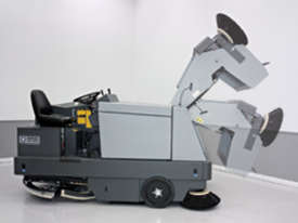 Nilfisk Combination Ride On Sweeper Scrubber Dryer CR1500  - picture2' - Click to enlarge