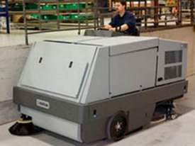Nilfisk Combination Ride On Sweeper Scrubber Dryer CR1500  - picture0' - Click to enlarge