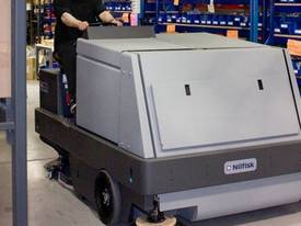 Nilfisk Combination Ride On Sweeper Scrubber Dryer CR1500  - picture5' - Click to enlarge