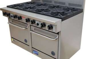 Goldstein PF-10-2/28 Gas 10 Burner Double Oven
