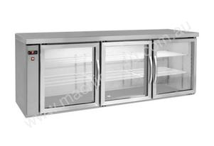 F.E.D. BB580R Three Door Bar Cooler - Remote Unit