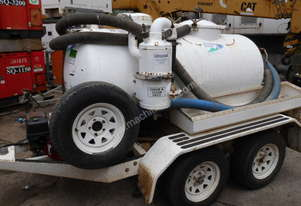 NGE-1000 , vacume tank trailer as new