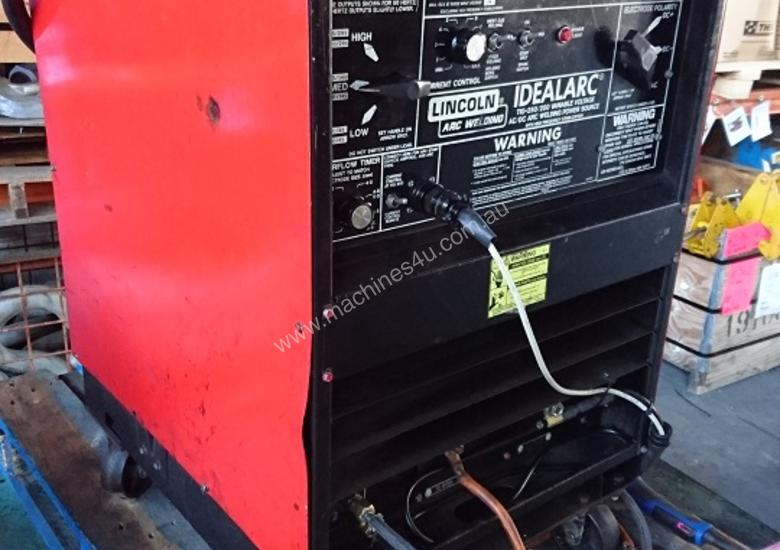 used lincoln idealarc acdc 250 250 three phase tig welders. Black Bedroom Furniture Sets. Home Design Ideas