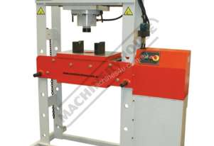 INDUSTRIAL HYDRAULIC PRESS PART NO = HPM-63T P400M