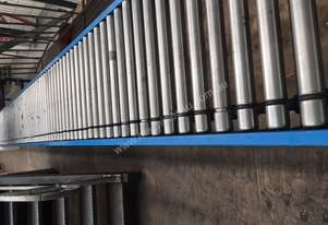 Gravity Roller Conveyor with Drive Beds and Motors