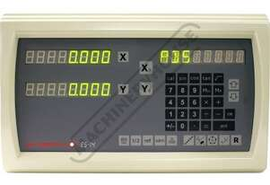 ES14-2x 2-Axis Digital Readout Counter - 1µm or 5µm  Suits Lathes & Mills