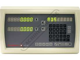ES14-2x 2-Axis Digital Readout Counter - 1µm or 5µm  Suits Lathes & Mills - picture0' - Click to enlarge