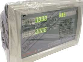 ES14-2x 2-Axis Digital Readout Counter - 1µm or 5µm  Suits Lathes & Mills - picture4' - Click to enlarge