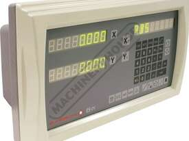 ES14-2x 2-Axis Digital Readout Counter - 1µm or 5µm  Suits Lathes & Mills - picture2' - Click to enlarge