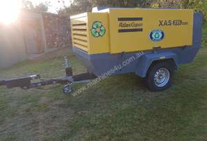 Air Compressor 2010 Atlas Copco XAS 375  400cfm