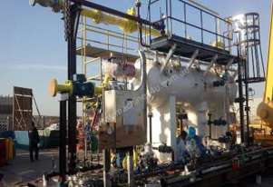 Skid Mounted Three Phase Separator (ASME Oil / Gas / Water)