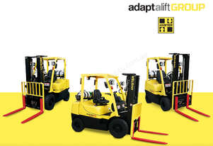 Brand New Hyster Dual Fuel Counterbalance Forklift
