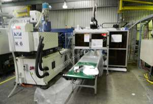 Ningbo Zhafir VE1900II   Injection Molder with with GH3 In-Mould-Labeller
