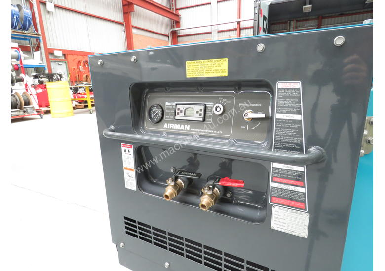 AIRMAN PDSF75S-5C1 75cfm High Pressure Portable Diesel Air Compressor